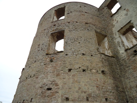 öland3 - tower of the castle ruin